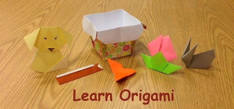 Learn Origami eBook on CD Printable