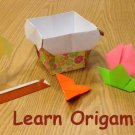 Learn Origami eBook on CD Printable