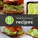 439 Avocado Recipes eBook on CD Printable - Free Combined Shipping