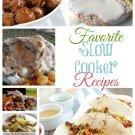 Favorite Slow Cooker Recipes eBook on CD Printable