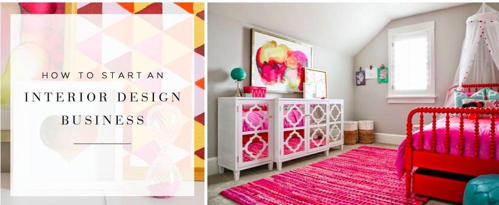 Start an Interior Design Business eBook on CD Printable