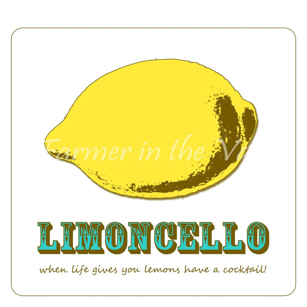 Limon Cello Recipes eBook on CD Printable