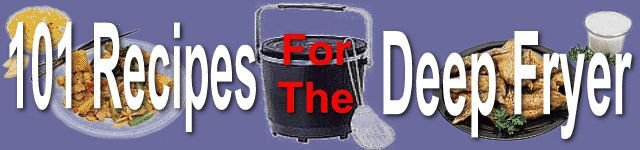 101 Deep Fryer Recipes eBook on CD PDF Printable