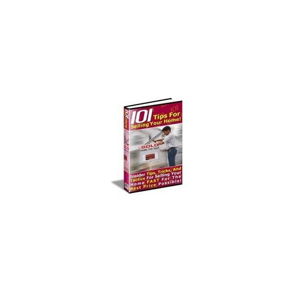 101 Tips To Selling Your House eBook on CD