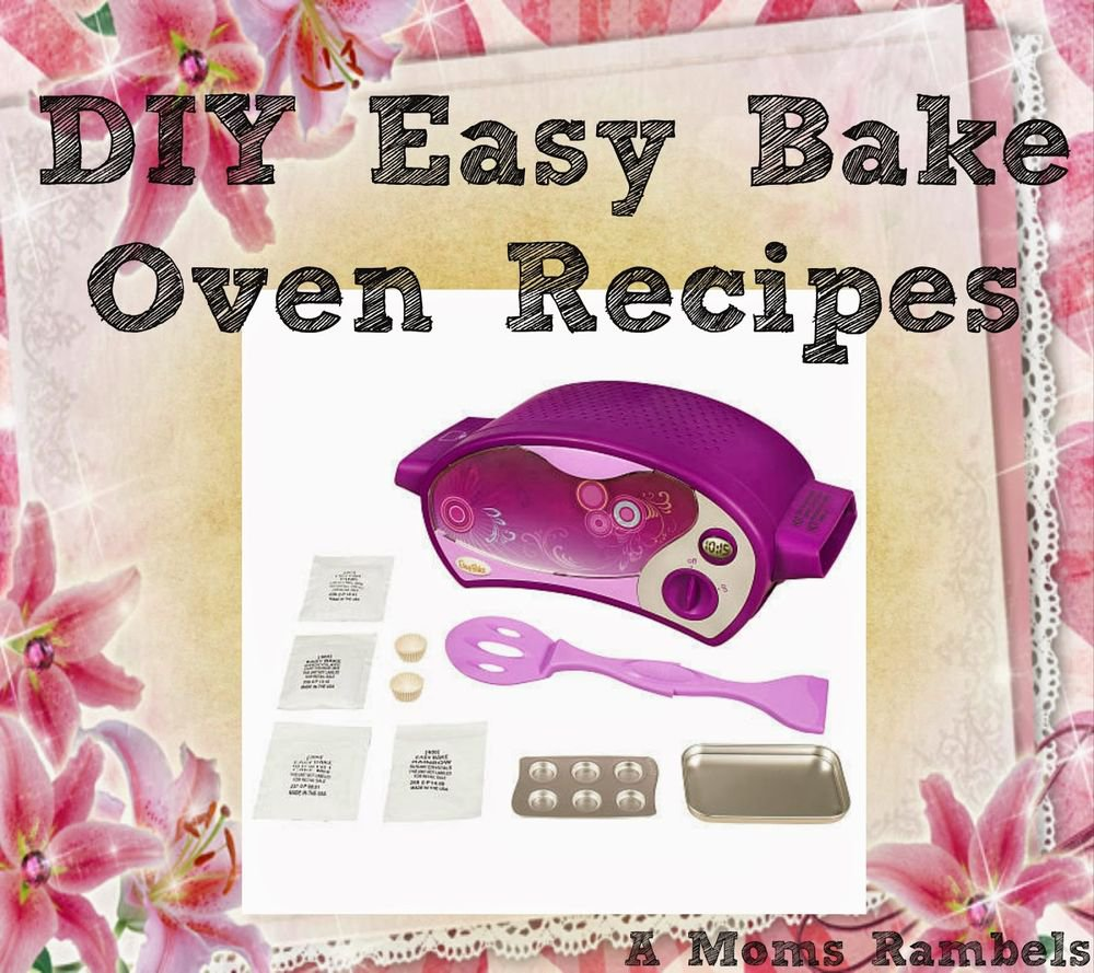 49 EASY BAKE OVEN RECIPES on CD -Cakes/Pies/Nachos/Pizza +MORE eBook