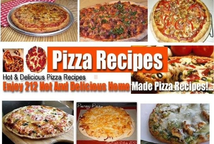 212 PIZZA & SAUCE & DOUGH Recipes eBook