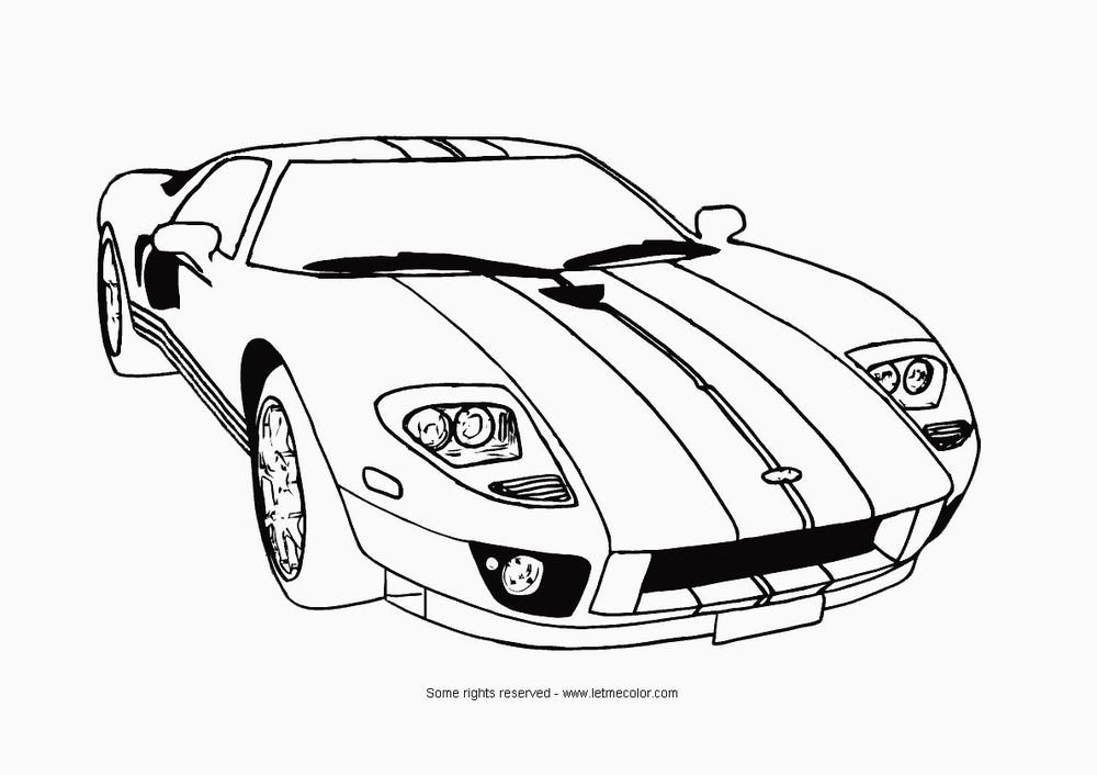 Cars Printable Coloring eBook 53 Pages on a CD