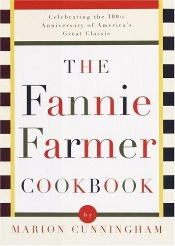 FANNY FARMER COOKBOOK-1918 Printable eBook on CD