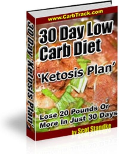 30 Day Low Carb Diet � Ketosis Plan on CD Printable eBook