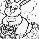 Easter Printable Coloring eBook 78 Pages on a CD
