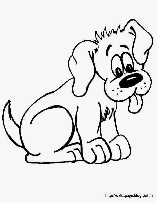 Dogs Printable Coloring eBook 102 Pages on a CD