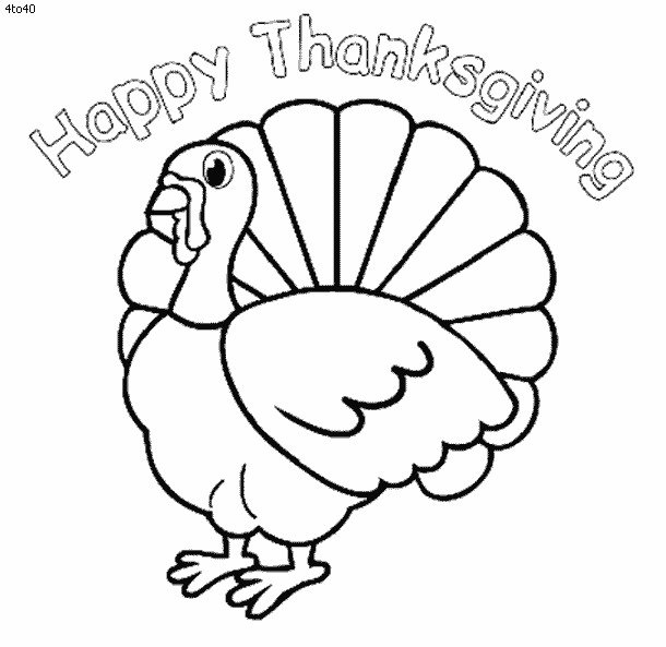 Thanksgiving Printable Coloring eBook Over 200 Pages
