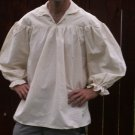 Large Renaissance Drop Yoke Primitive Pioneer Pirate Poet Theatre Shirt