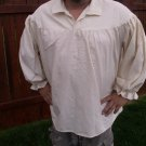 4XL Renaissance Drop Yoke Primitive Pirate Poet Theatre Shirt