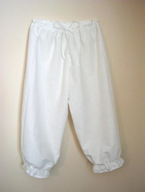 LARGE Womens Renaissance Bloomers Trousers Underwear