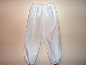 Girls Size 7/8 Long Bloomers Trousers Knickers Pantaloons