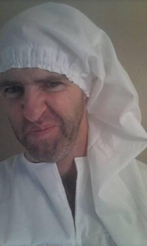 Ebenezer Scrooge nightcap christmas night cap universal fit