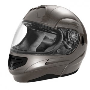 SUMMIT II VEGA FLIP UP MODULAR MOTORCYCLE HELMET TITANIUM DOT SIZES XS-2X IN STOCK