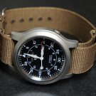 Brown 22mm  Nato Nylon Watch Strap