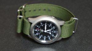 Military Green 20mm Nato Nylon Watch Strap