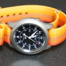 Orange Rainbow 18mm Nato Nylon Watch Strap