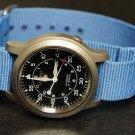 Sky Blue 20mm Nato Nylon Watch Strap