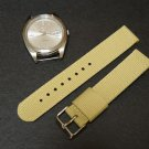 Sand 24mm 2 Piece Military Watch Strap