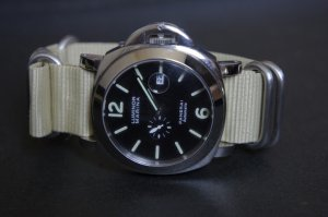 Sand 20mm 5 Ring Zulu Nylon Watch Strap Band