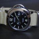 Sand 24mm 5 Ring Zulu Nylon Watch Strap Band