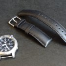 Timex Black Leather 20mm Watch Strap Band NEW
