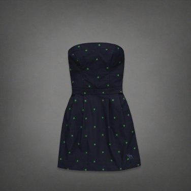 Abercrombie & Fitch ANF ADIN DRESS Polka Dot New with Tag Size S