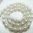 Handmade Natural fresh water pearl gemstone Necklace7mm