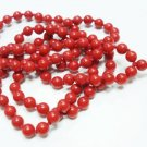 Handcrafted Natural Coral Gemstone Beads Necklace