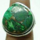 6.71Gms Handcrafted Labradorite Gemstone & Silver Ring