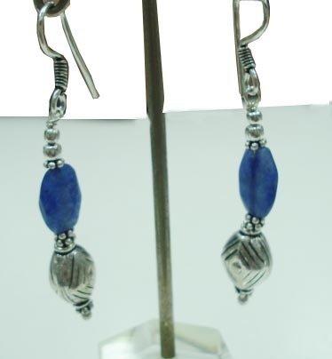 6.00 gm Stunning Designer Gemstone Silver Earrings