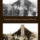 Digital photo restoration - Severe damage