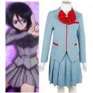 Bleach Kuchiki Rukia School Uniform Halloween Cosplay Costume