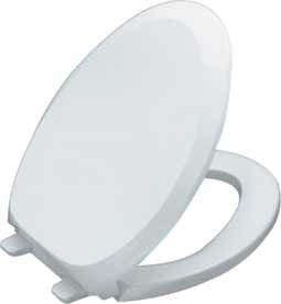 Kohler K-4713-0 Elongated Seat Quiet-Close Closed