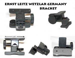 Ernst Leitz Wetzlar germany bracket