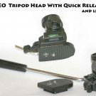 VIDEO Tripod Head With Quick Release & BUBBLE LEVEL
