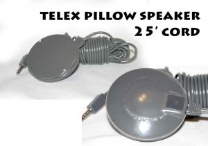telex pillow speaker 25&#039; cord