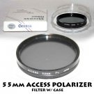 ACCESS 55mm POLARIZER FILTER W/ CASE