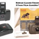 Kodak Cameo Focus Free 35mm Film Camera