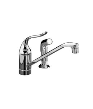 Coralais&Acirc;&reg; single-control kitchen sink faucet- K-15176-P-CP