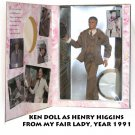 KEN AS HENRY HIGGINS FROM MY FAIR LADY, YEAR 1991 -