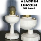 ALADDIN LINCOLN ALACITE OIL LAMP