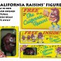 """CALIFORNIA RAISINS"" FIGURE FREE RAISIN BRAN GIVE AWAY  NEW  IN BOX -"
