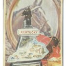 5x7 3D PHOTO OF JIM BEAM COLLECTIBLE &quot;KENTUCKY&quot; CERAMIC BOTTLE