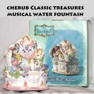 CLASSIC TREASURES ~~CHERUB MUSICAL WATER FOUNTAIN -