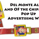 Del Monte Alvin and the Chipmunks Pop Up Advertising Watch